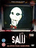 Saw Complete All 7 Movies DVD Film Collection [7 Discs] Box Set Part 1, 2, 3, 4, 5, 6 + 7:Final Chapter + Extras