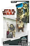 Star Wars Action Figure Legacy Collection Wave 9 - Ewoks Nho-Apakk and Paploo (Droid Piece may Vary)