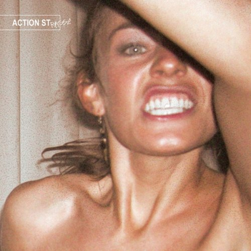 Original album cover of American Gas Jive by Action Strasse