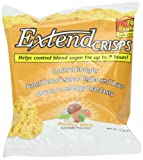ExtendCrisps, Honey BBQ, 1.1-Ounce Bags (Pack of 5)