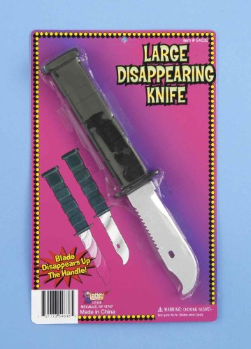 F54636 Retractable Disappearing Knife Large