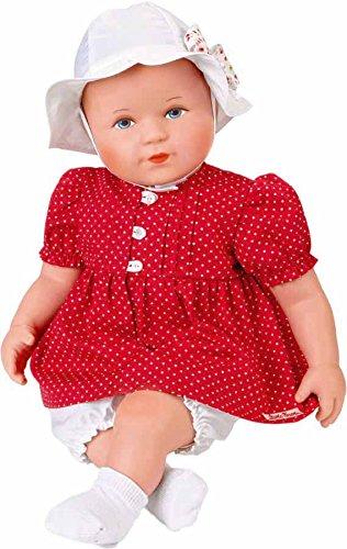 Käthe Kruse 48503 - Puppe Kleid Bambina Pünktchen