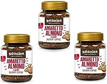 Café soluble Beanies con sabores- Amaretto - 3 x 50g - potecitos de vidrio en caja de presentacion - - Un buen regalo de navidad! vendedor Caramba