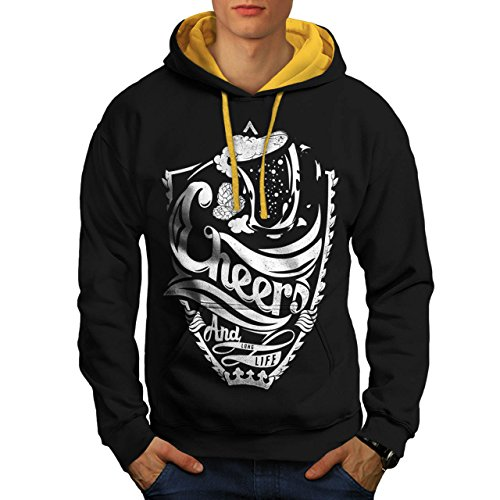 cheers-long-life-fun-epic-drink-men-new-black-gold-hood-s-contrast-hoodie-wellcoda