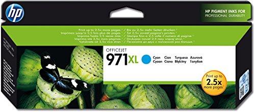 HP 971XL Cyan Original HP Tintenpatrone mit hoher Reichweite
