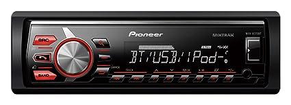 Pioneer MVH-X370BT Autoradios Bluetooth, En Façade