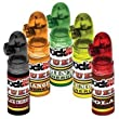 Rockit! Energy Snuff Bullets - 5 Pack - 1 of each Flavor - Guarana