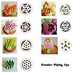 TANGCHU Russian Piping Tips 7PCS/SET...