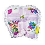 NewBorn Baby Pillow Pink Frills - 19.5cm X 19cm