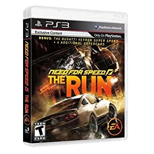 Exclusive Need For Speed The Run PS3 By Electronic Arts