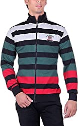 RGT Men's Fleece Regular Fit Sweatshirts (RGT6016GREEN-XXL)