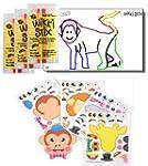 Zoo Animal Stickers & Wikki Stix Part...