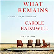 What Remains: A Memoir of Fate, Friendship, and Love | [Carole Radziwill]