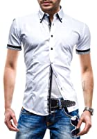 BOLF - Chemise casual - à manches courtes - MODELY 1CT - Homme
