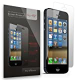 Sty-HD iPhone 5 5s 5c Premium Screen Protectors 3 Pack – Full Retail Packaging (HD Clear)
