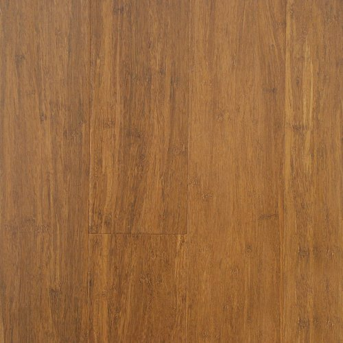 Solid Strand Woven Bamboo Hardwood Flooring Light Carbonized by EcoFusion Flooring