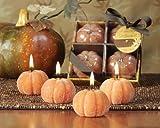 Deco Glow Beaded Pumpkin Candles 4 piece gift set