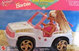 Splash n Color Barbie Sun Wheeler Vehicle Jeep (1996 Arcotoys, Mattel)