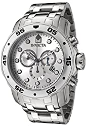 Invicta Men's 0071 Pro Diver Collection Chronograph Stainless Steel Watch
