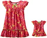 Dollie & Me Girls 2-6X Dragonfly Print Nightgown