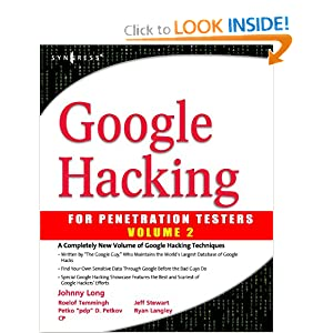 Google Hacking 2 Johnny Long