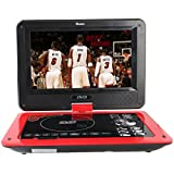 Buyee 9.8-Inch Handheld Portable DVD Player 270 Degree Swivel Screen Support Analog Tv