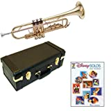 Disney Solos Bb Student Trumpet Pack - Includes Trumpet w/Case & Accessories & Disney Solos Play Along Book
