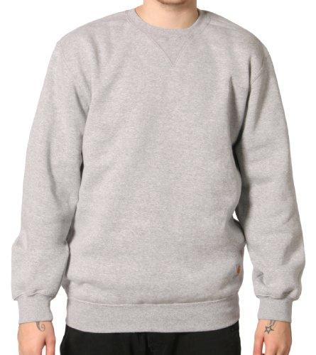 Carhartt K124 Crewneck Sweatshirt Grey Mens Hoodie Top