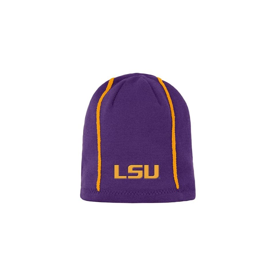 a5460dddcf7 Nike LSU Tigers Players Reversible Knit Beanie on PopScreen