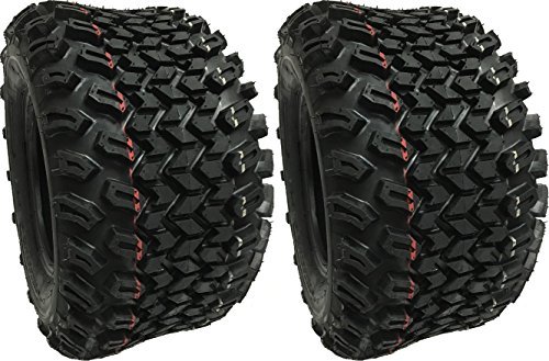 (2) TWO 22X11-10 DURO DESERT X COUNTRY HF244-A 6 PLY ATV 22X11-10 PAIR (22x11x10 Golf Cart Tires compare prices)