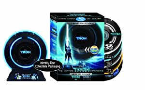 Tron: Legacy / Tron: The Original Classic (Five-Disc  Combo: Blu-ray 3D  / Blu-ray / DVD / Digital Copy in Identity Disc Collectible Packaging)