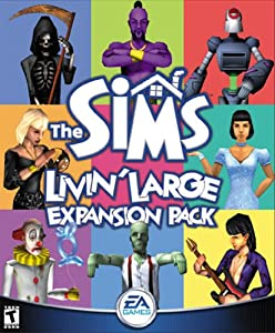 The Sims Livin' Large Expansion Pack - PC