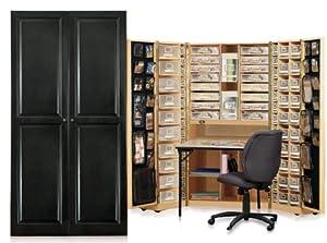 Workbox Black Raised Panel
