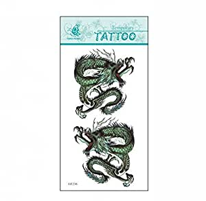 Syz beauty waterproof temporary tattoos two for Temporary tattoos 6 months