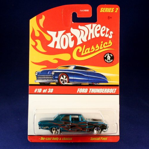 FORD THUNDERBOLT (BLUE) 2005 Hot Wheels Classics 1:64 Scale SERIES 2 Die Cast Vehicle - 1