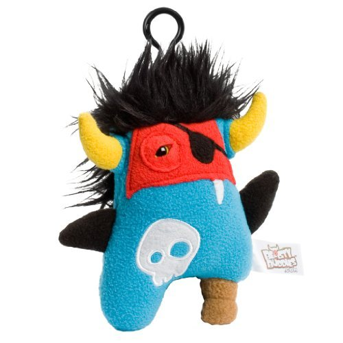 Beasty Buddies Pirate Zorlag 6-inch Plush Monster