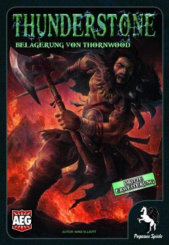Pegasus Spiele 51034G - Thunderstone: Assedio di Thornwood, gioco di strategia [importato dalla Germania]