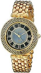 Akribos XXIV Amazon Exclusive Women's AK808YG Gold-Tone Watch
