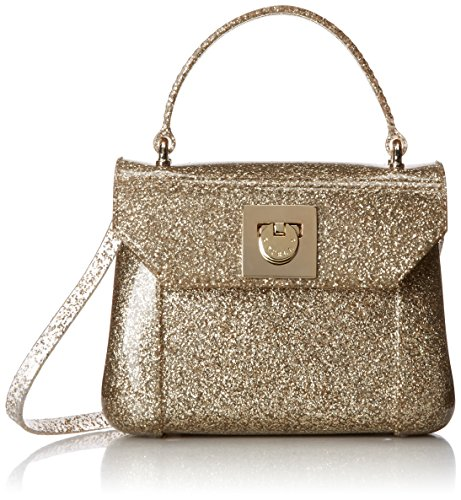 Furla Candy Bon Bon Mini Handle Bag, Color Oro, One Size