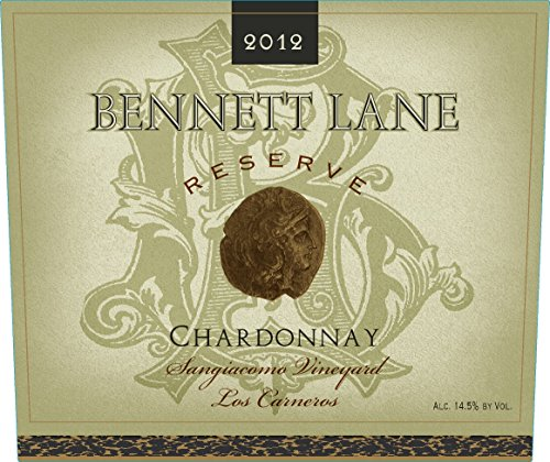 2012 Bennett Lane Chardonnay Los Carneros Reserve 750Ml