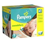 Pampers Swaddlers Diapers Size 1 Econ...