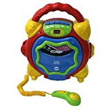 Sing along Anti-shock CD/MP3 player & USB Player & Microphone