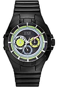 Buy Guess Gents Sports Rubber Strap Watch W11171G1 by GUESS