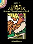 Little Farm Animals Stained Glass Col...