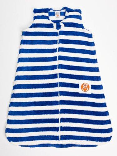 Gunamuna Gunapod Wearable Blanket Party Collection, Monaco Blue/Cocoon, Small front-602551