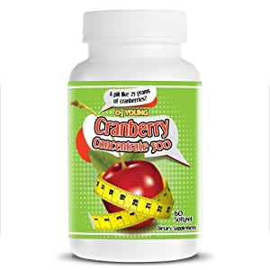 Cranberry supplements for weight loss