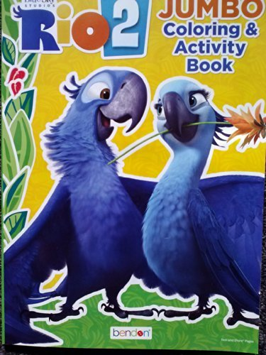 Rio2 (Jumbo) Coloring & Activity Book (64 Pages)