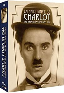 Coffret inedit Charlie Chaplin : La naissance de Charlot - The Keystone comedies - 1914