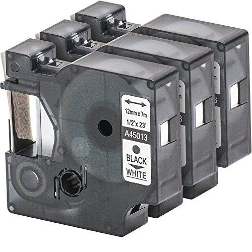 3-x-d1-45013-s0720530-nero-su-bianco-nastro-compatibile-per-dymo-labelmanager-100-110-120p-150-160-p