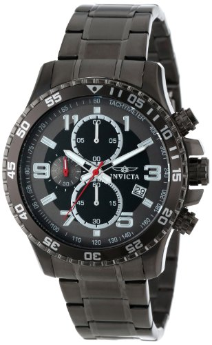 Invicta Men's 14879 Specialty Chronograph Silver Dial Gunmetal Casual Watch